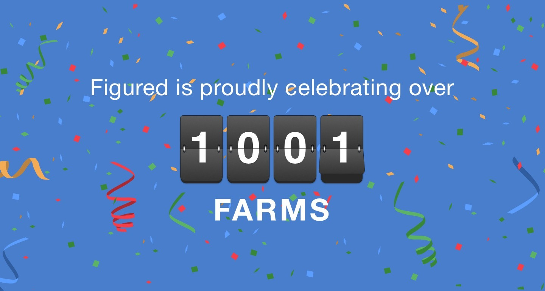 Figured Passes 1000 Farm Milestone