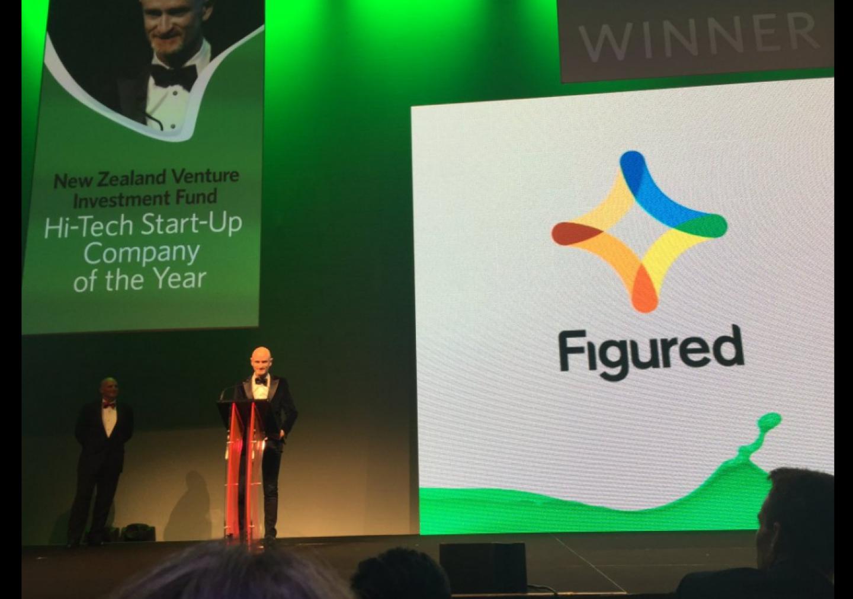 Figured wins NZ Hi Tech Start Up Company of the Year Award 2016