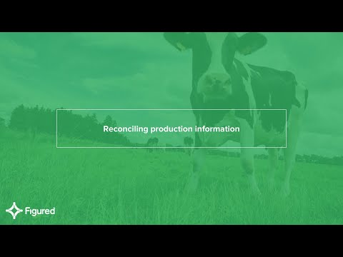Reconciling production information