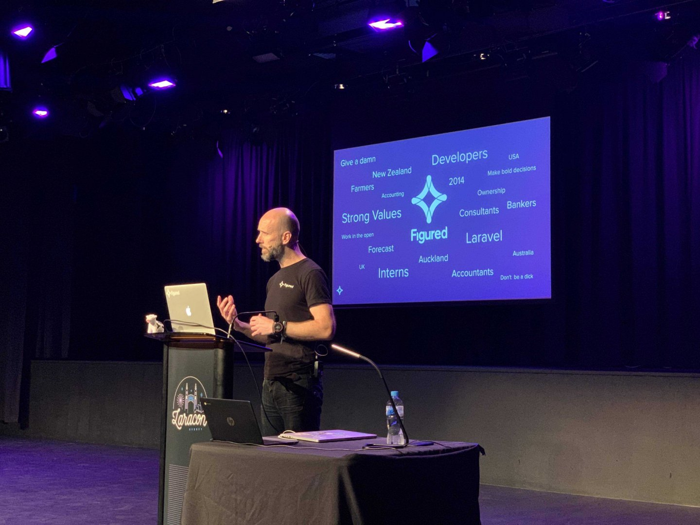 Figured at Laracon AU 2019: How we develop