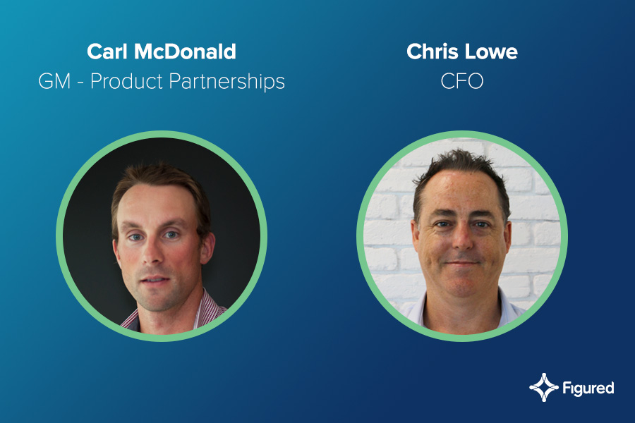 Additions to the Figured Leadership Team—structured for growth